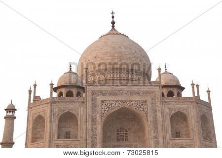 Taj mahal in agra;india