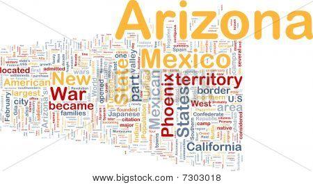 Arizona State Background Concept