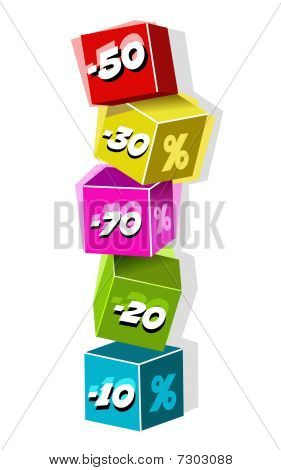 discount vector cubes