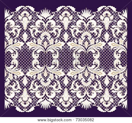 Lace background. Seamless pattern.