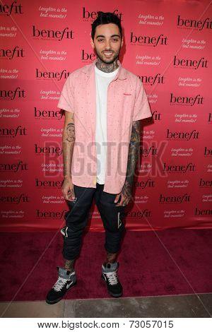 LOS ANGELES - SEP 26:  Romeo at the Benefit Cosmetics Kicks Off Wing Women Weekend at Space 15 Twenty on September 26, 2014 in Los Angeles, CA