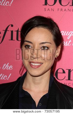 LOS ANGELES - SEP 26:  Aubrey Plaza at the Benefit Cosmetics Kicks Off Wing Women Weekend at Space 15 Twenty on September 26, 2014 in Los Angeles, CA