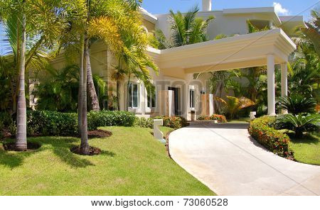 House in the tropics
