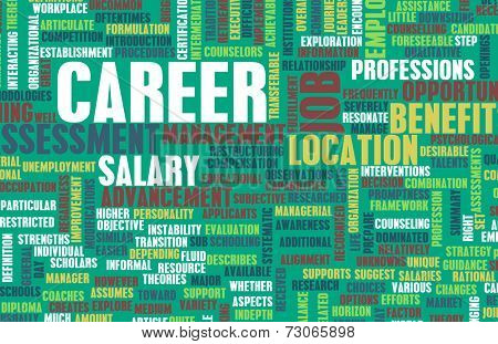 Job Career Search and Business Talent as Concept