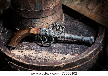 Old Vintage Gun