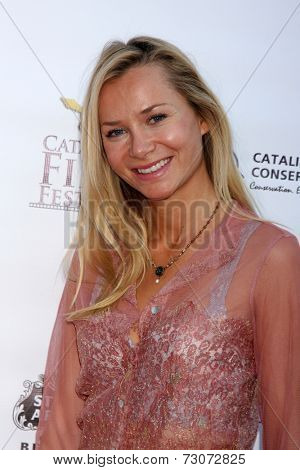 AVALON - SEP 27:  Mika Boreem at the Catalina Film Festival Gala at the Casino on September 27, 2014 in Avalon, Catalina Island, CA