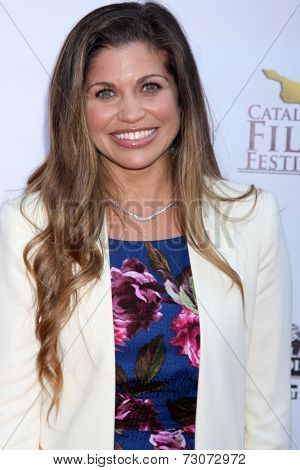 AVALON - SEP 27:  Danielle Fishel at the Catalina Film Festival Gala at the Casino on September 27, 2014 in Avalon, Catalina Island, CA