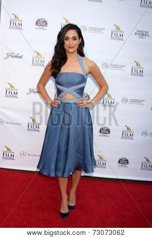AVALON - SEP 27:  Emmy Rossum at the Catalina Film Festival Gala at the Casino on September 27, 2014 in Avalon, Catalina Island, CA