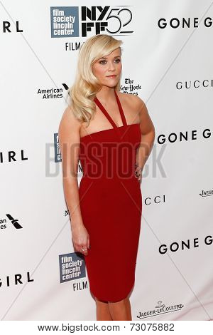 NEW YORK-SEP 26: Actress Reese Witherspoon attends the