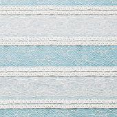 pic of ivory  - Ivory lace fabric on blue background texture - JPG