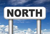 picture of north-pole  -  north geographical compass direction north pole   - JPG