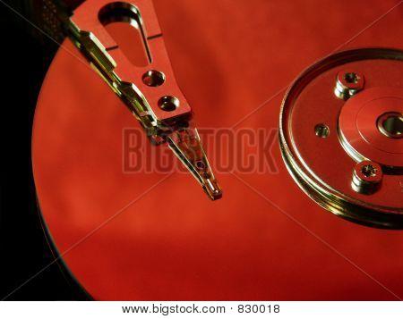 Hard disk orange