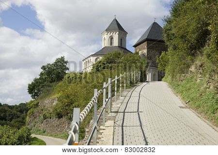 The Way To The Chapel Of St. Matthias In Kobern-gondorf