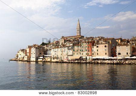 Rovinj City In Croatia