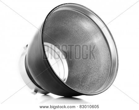Reflector isolated on white