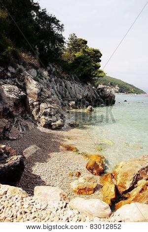 Stone Sea Beach Croatia