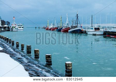 Fishing Boats In Warnemuende