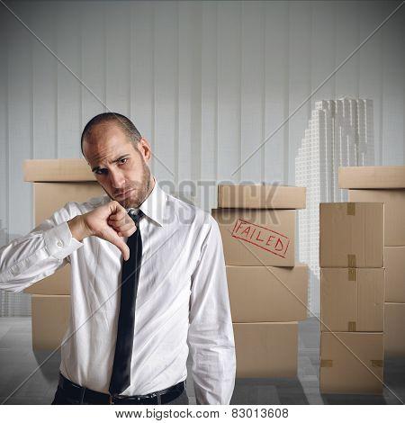 Businessman fired