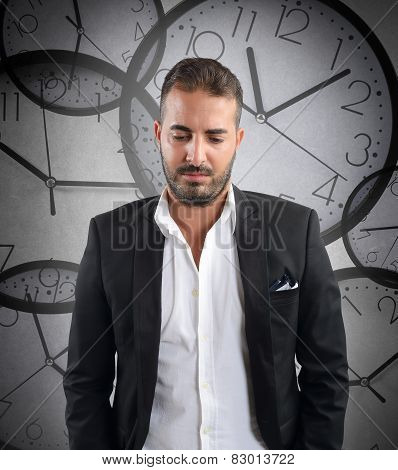 Laggard businessman