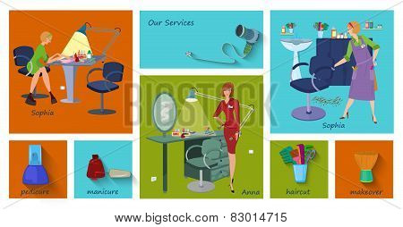 Beauty Spa Salon Service Page