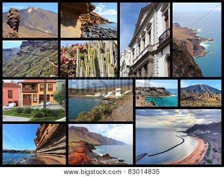 Tenerife Collage