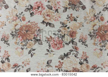 Gray Knitwear Floral