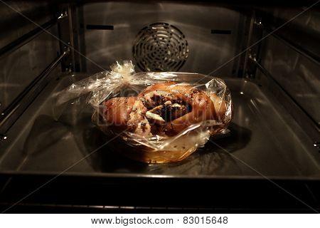 Baking Of Pork Knuckle
