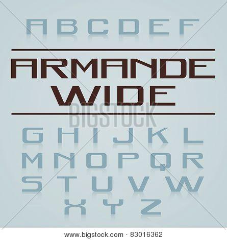 Armande Font Alphabet