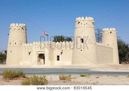Historic Fort In The Liwa Area, UAE