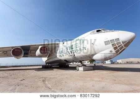 Old Russian Ilyushin Il 76 Cargo Plane
