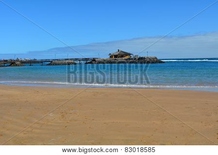 Beatiful tropical beach on Canary Island Fuerteventura Spain