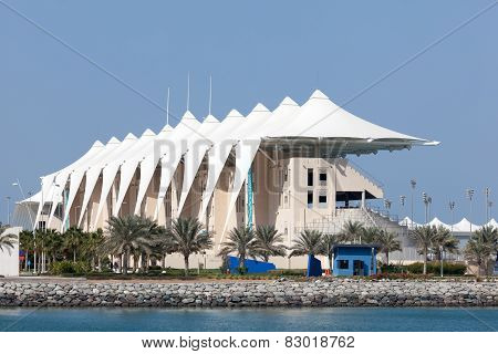Grandstand At The Yas Marina Circuit