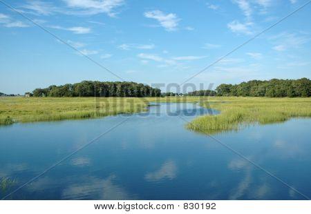 Essex marsh, Essex, MA