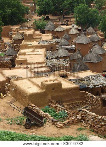 Adobe African village