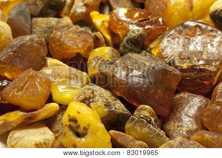 Raw amber