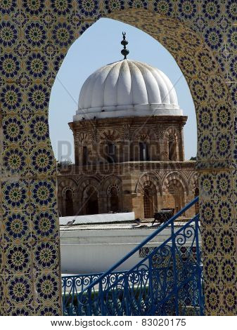 Dome and tile