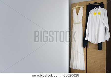 Groom Costume And Wedding Dress