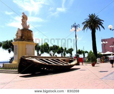 Carloforte, the promenade