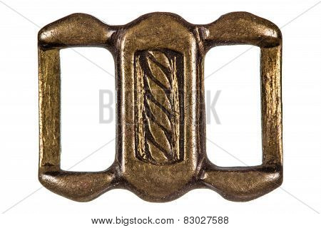 Buckle, Fashion Accessory, Decorative Element, Isolated On White Background