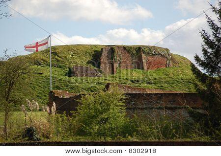 Basing House ruins
