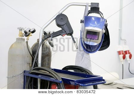 The image of welding equipment