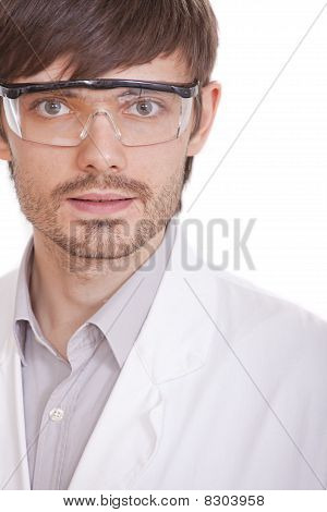 Portrait Of Male Scientist