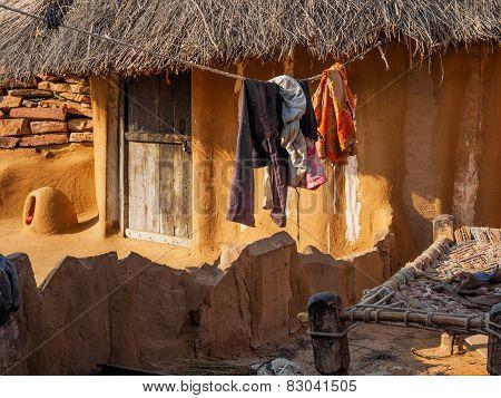 House Of Indian Farmer