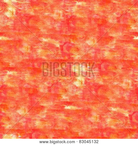 artist watercolor red, orange pattern background, art and seamle