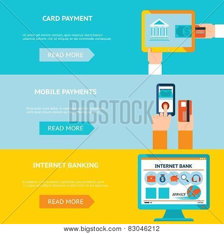 Internet banking and mobile payments