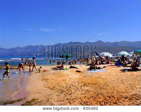 Plagemesu beach in Sardinia