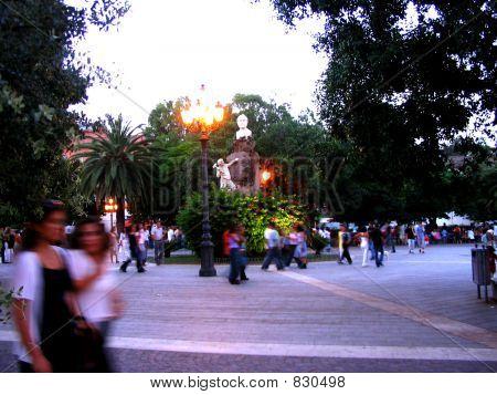 Piazza Sella (Sella Square), Sardinia