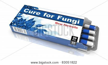 Cure for Fungi - Blue Pack of Pills.