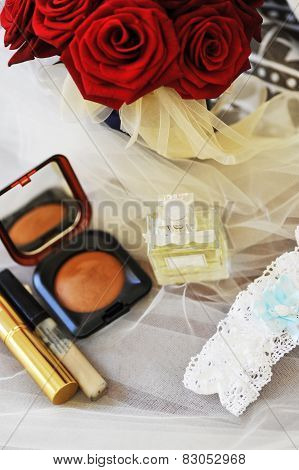 Cosmetics  And roses