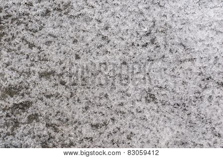 Abstract Texture Of Gray Ice
